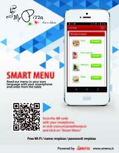 brochure smart menu