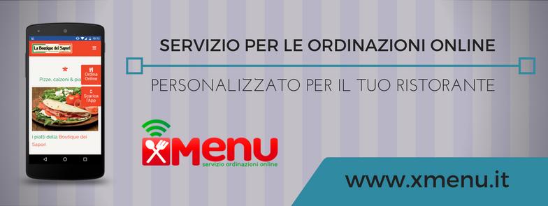 xMenu - software per le ordinazioni online