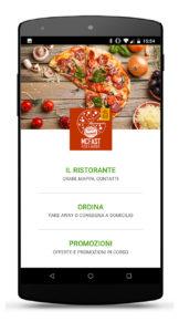 app mobile pizzeria
